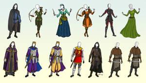 LARP Costume Design Batch
