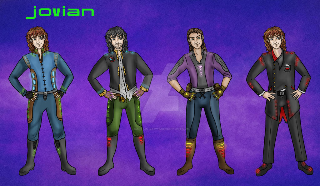 Jovian Outfits Commission by Captain-Savvy