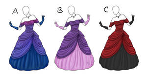 Ball Gown Adoptables [Closed]