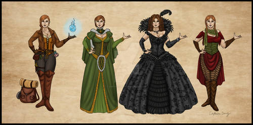 Alva Outfits Commission
