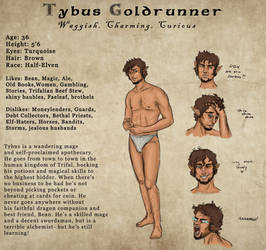 Tybus Goldrunner- Profile by Captain-Savvy
