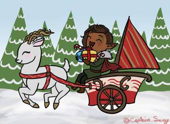 Alhan the Christmas Elf