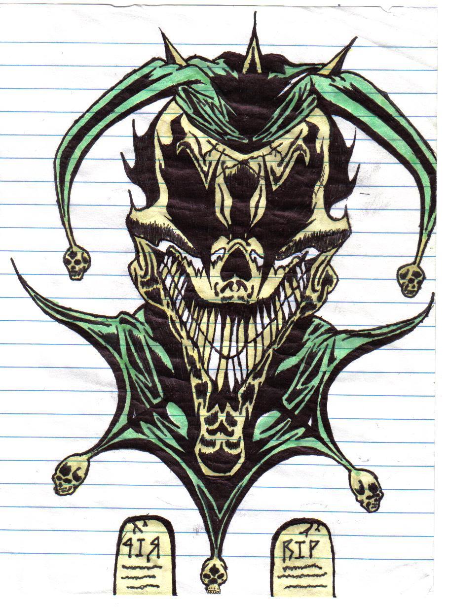 Evil Jester Tattoos Wicked jester by darklover666