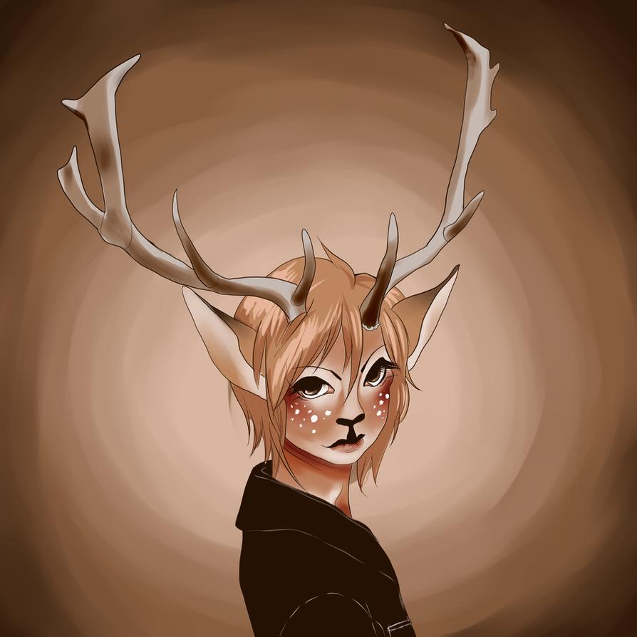 Deer Boy by vinxx555