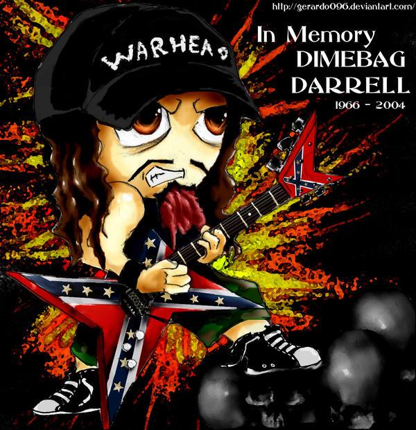 Dimebag Darrell R.I.P. by GeRaRDo096