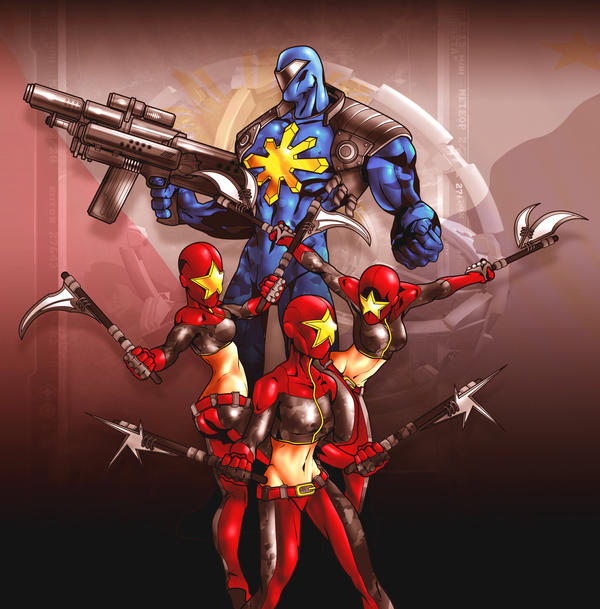 Armchair Gamer  Inspiration  Filipino Superhero RPG campaigns 01