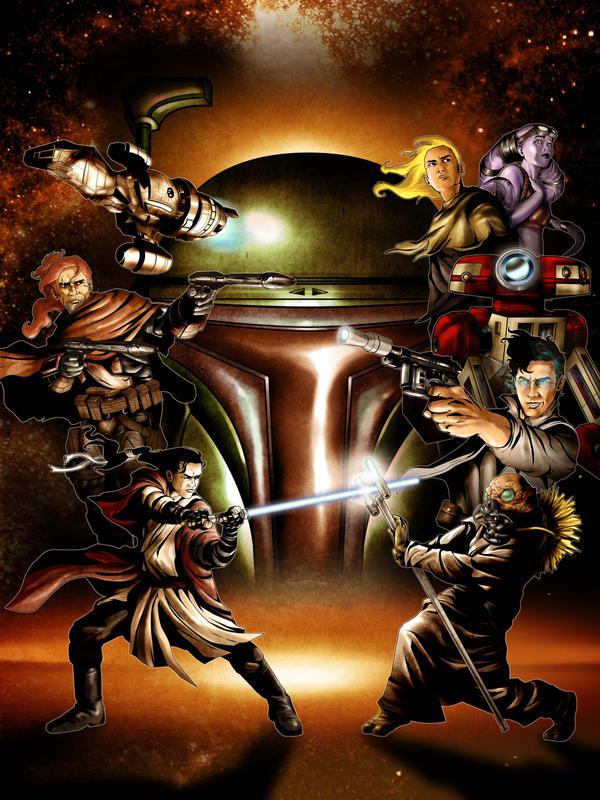 STARWARS Bounty Hunter Poster by Iantoy