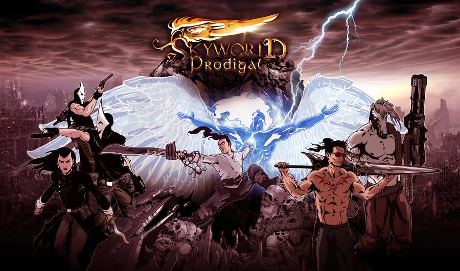 Skyworld 3:Prodigal_Poster3 by Iantoy