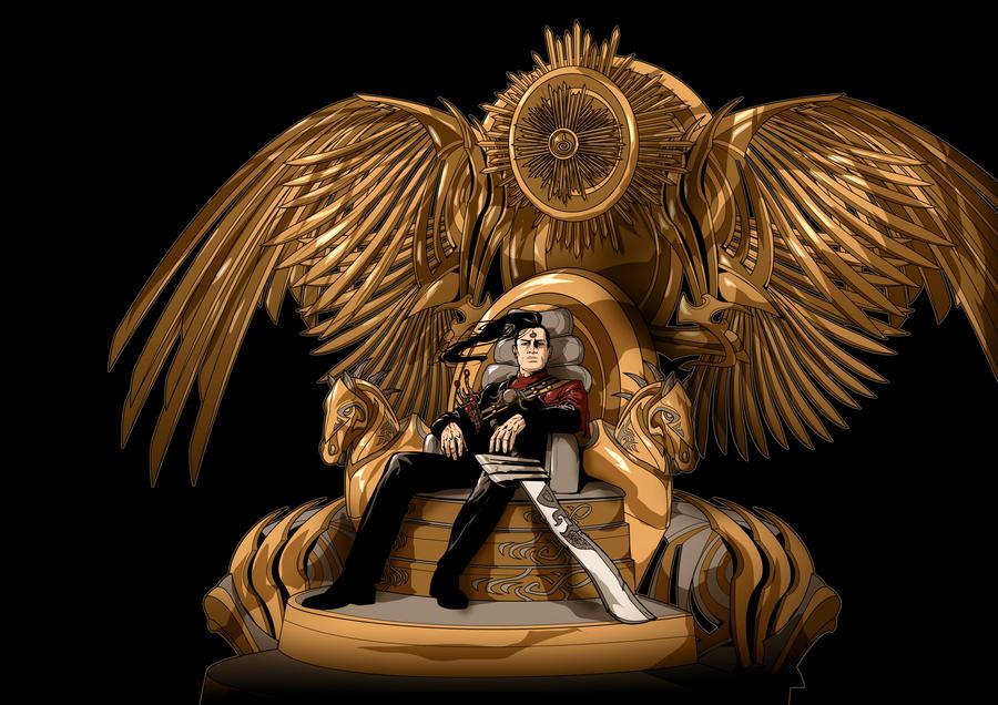 The Maharlika Throne Design by Iantoy