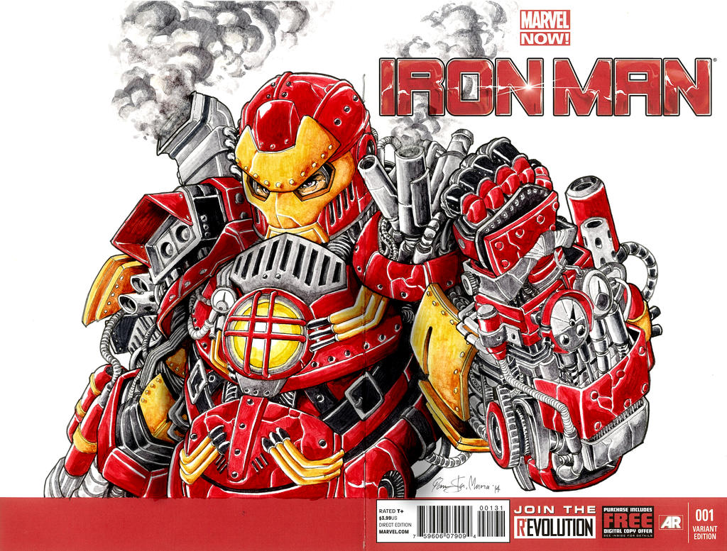 Steampunk Ironman by Iantoy