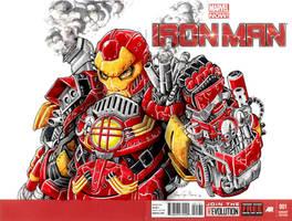 Steampunk Ironman by Iantoy