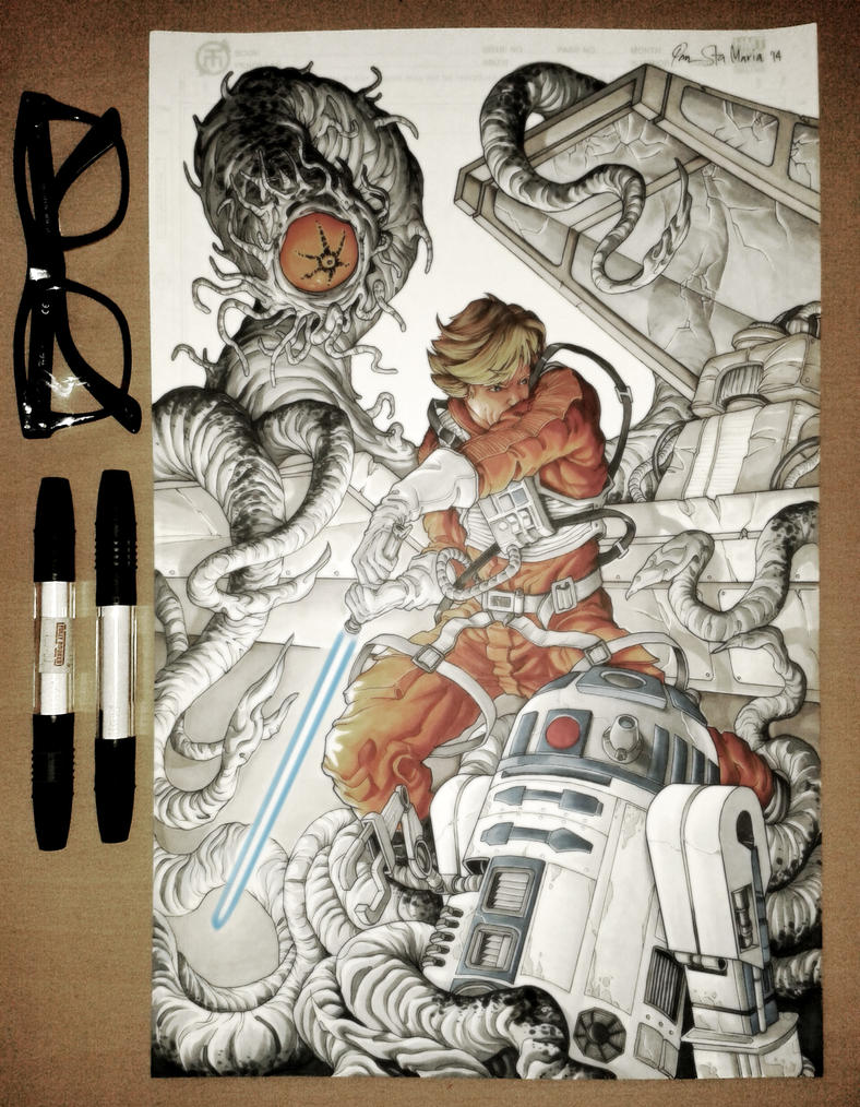 Luke and R2 by Iantoy