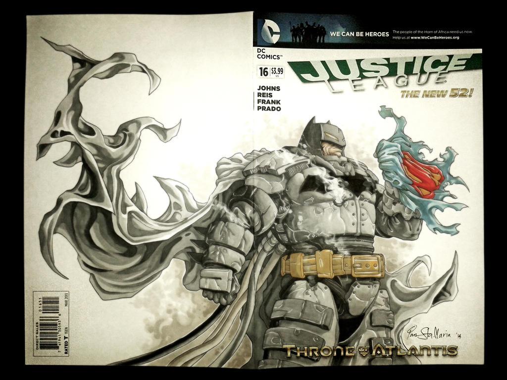Battle armored Batman by Iantoy