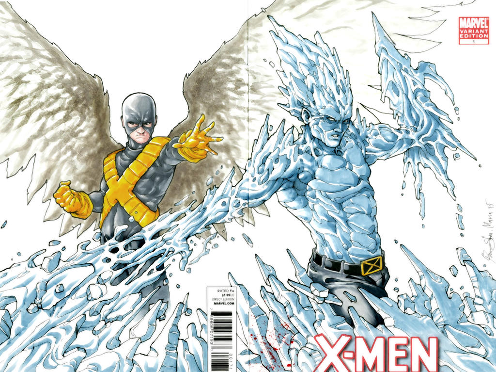 Angel and Iceman by Iantoy