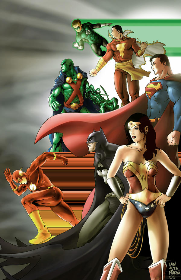 Justice league by Iantoy