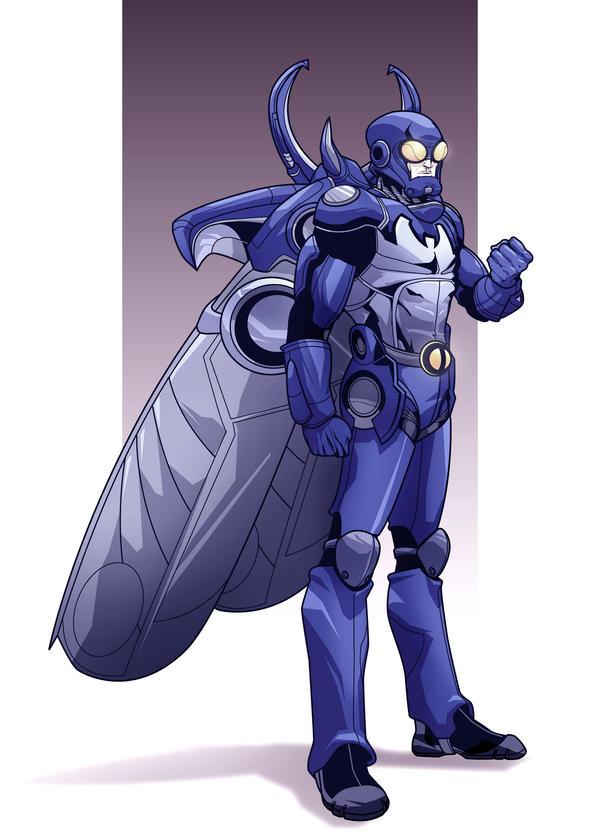 blue beetle by Iantoy