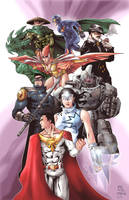 Justice corps by Iantoy