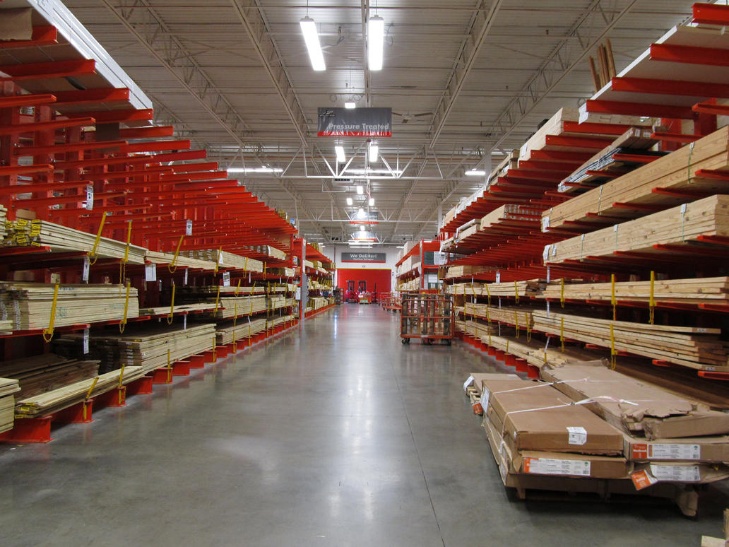 Home Depot Linear Perspective By Socialchameleon369 ...