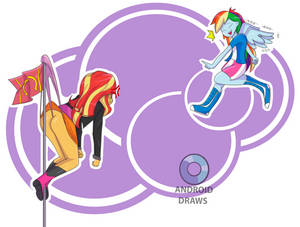 My Little Pony Shimmer Wedgie