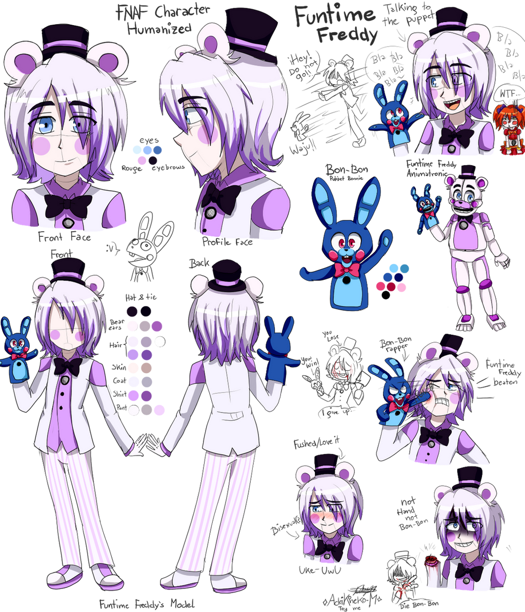 Funtime Freddy Fnaf Sl Humanized By Adrikoneko Mizuiro On