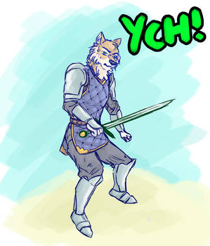 YCH - Sword Guard [Any Race - Can be human]