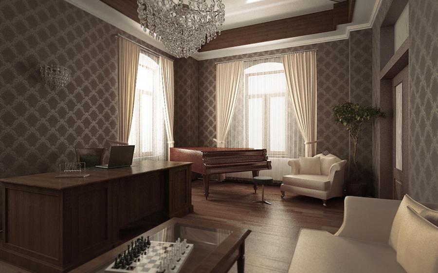 3D classic office