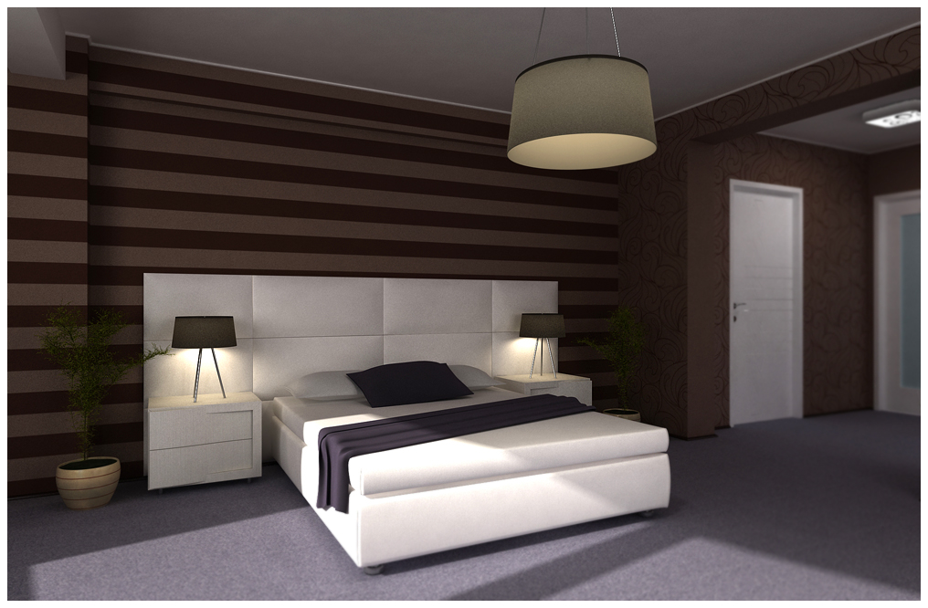 Bedroom brown and purple 2 by raaab on deviantart for New house bedroom ideas