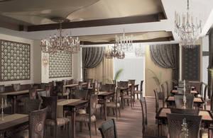 3D restaurant 1 by raaab