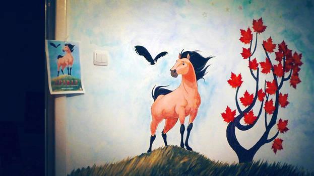 wall painting - spirit