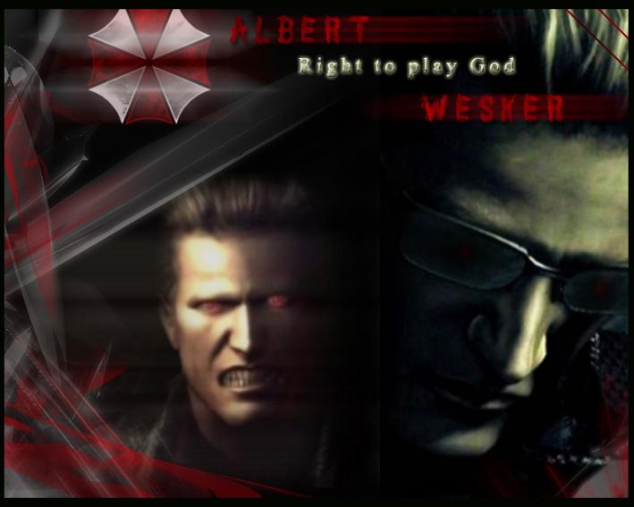 Albert Wesker God By Claire Wesker1