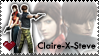 Claire-X-Steve stamp by Claire-Wesker1