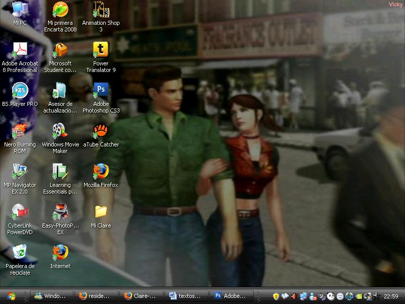 My Desktop - 1 by Claire-Wesker1