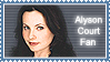 ::Alyson Court stamp:: by Claire-Wesker1