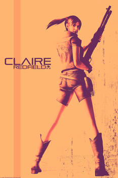 Claire Redfield poster