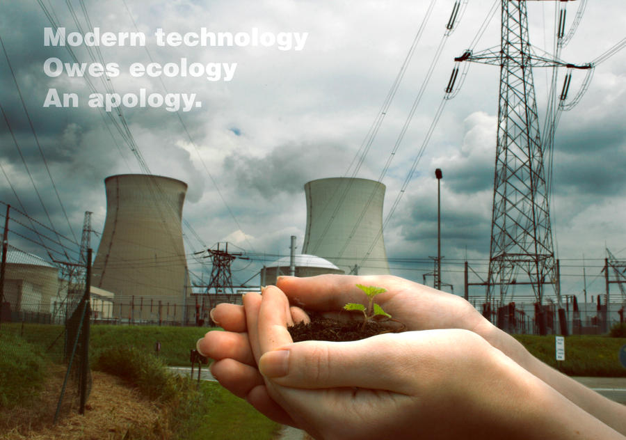 a description of technology which owes ecology an apology Open document below is an essay on technology owes ecology an apology from anti essays, your source for research papers, essays, and term paper examples.