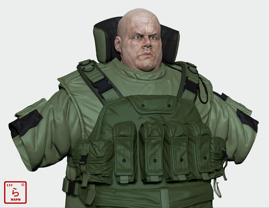 Fatman, MGS 2 by Je-huty