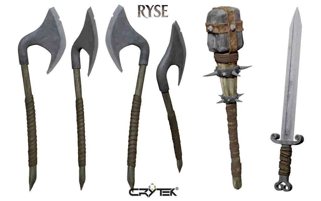 Ryse  Son Of Rome  Weapons By Je