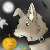 Aksa - Halloween avatar by Clawwish