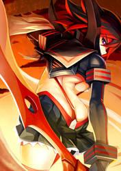 [KILL la KILL] Ryuko Matoi by iorlvm