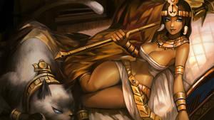 [LOL] Nidalee_cleopatra SKIN by iorlvm