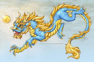 Rain Dragon by Kipestshin