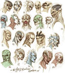 Mask Designs Pile