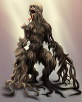 Hair Golem by Kipestshin