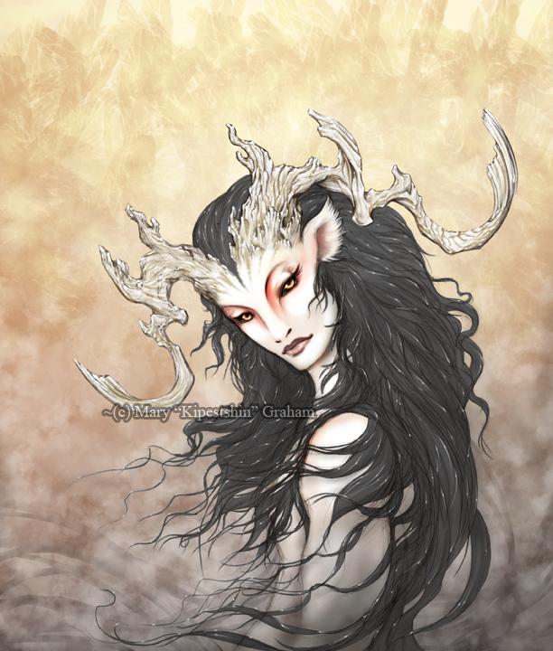 White Stag by Kipestshin