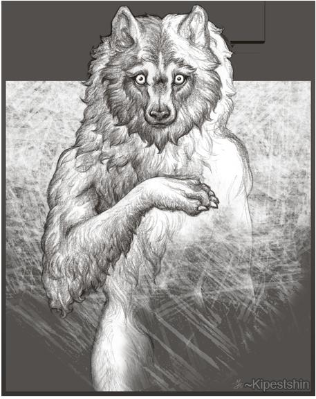 Winter Wolf by Kipestshin