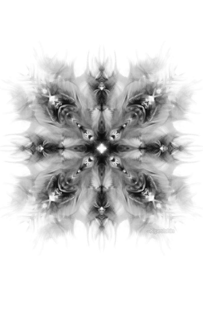 Snowflake 003 by Kipestshin