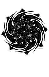 Snowflake 008 by Kipestshin