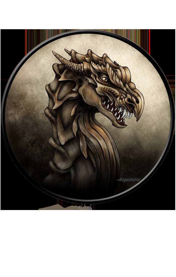 Dragon Pendant by Kipestshin