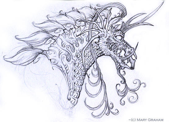 Evil Scary Unicorn by Kipestshin on DeviantArt