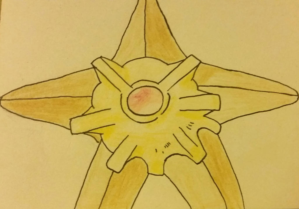 Hyapp... I mean Staryu! by Shadarot